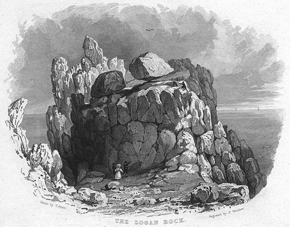 Treen Logan engraving 1830